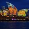 Tűzoltók képeivel világították ki a Sydney-i Operaházat! Videó itt!