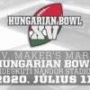 Maker's Mark XV. Hungarian Bowl 2020-bn a Hidegkúti Stadionban - Jegyek itt!