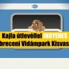 Kajla útlevéllel INGYENES a Debreceni Vidámpark Kisvasútja!