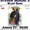 Steven Seagal budapesti koncert - Jegyek itt!