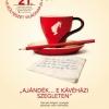 Ingyen kávézhatunk egy versért cserébe! Kávézók listája itt!