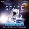 Gateway to Space - Űrkiállítás 2016-ban a Millenárison - Jegyek itt!
