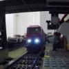 Elképesztő! LEGO vonat hálózat a lakásban! Videó itt!