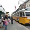 1956 - Korhű villamosok közlekednek Budapesten októberben!