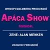 Apáca show muscal turné - Pécs, Miskolc, Veszprém, Győr, Zalaegerszeg, Szombathely, Nyíregyháza