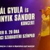 Vikidál Gyula és Homonyik Sándor koncert Csillebérci Szabadtéri Színpadon - Jegyek itt!