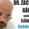 Dr Zacher Gábor előadása Budakeszin! Jegyek itt!