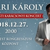 Nyári Károly karácsonyi koncert a Budapesti Kongresszusi Központban 2018-ban - Jegyek itt!