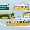 Nosztalgia villamos- és buszfelvonulás lesz vasárnap!
