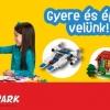 Ingyenes LEGO repülő és űrhajó építés!