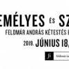 Feldmár András előadása - Személyes és személytelen - Jegyek itt!