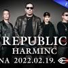 Republic Harminc - 30 éves jubileumi Republic koncert 2022-ben Budapesten az Arénában - Jegyek itt!