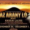 Az Arany ló lovas show 2019-ben a Papp László Budapest Sportarénában - Jegyek itt!