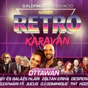 Nőnapi Retro kraván koncert 2020-ban az Arena Savariaban Szombathelyen - Jegyek itt!