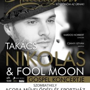 Takács Nikolas koncert Szombathelyen az AGORA-ban! Jegyek itt!