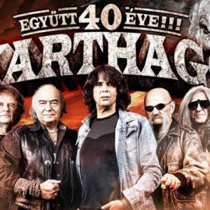 Karthago koncert 2021-ben Budapesten a Városmajori Szabadtéri Színpadon - Jegyek itt!