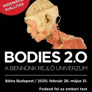 A Bodies 2.0. kiállítás továbbra is látogatható marad!