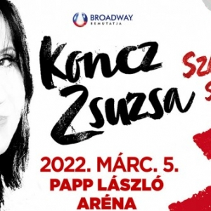 Koncz Zsuzsa koncert 2021-ben az Arénában Budapesten - Jegyek itt!