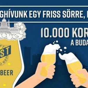 INGYEN sör a budapestieknek! Csak 10 000 korsó! Helyszínek itt!