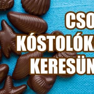 Kóstolj INGYEN csokikat a világ minden tájáról! Jelentkezés itt!