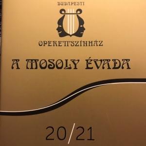 Elkészült a Budapesti Operettszínház 2020/2021-es évada!