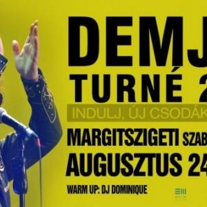 Demjén koncert 2020-ban a Margitszigeti Szabadtéri Színpadon - Jegyek itt!