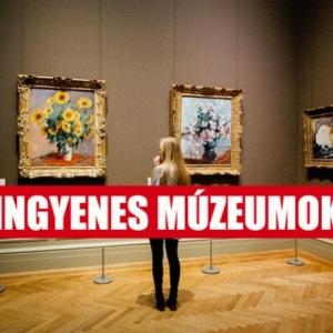 INGYENES múzeumok augusztus 20-án! Itt a lista!