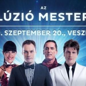 Az illúzió mesterei 2020-ban Veszprémben a Hangvillában - Jegyek itt!