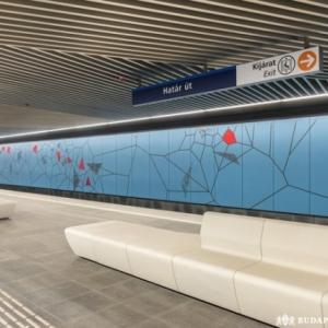 2 hétig a teljes vonalon jár a metró!