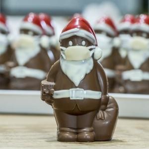 Budapesten is kapható lesz a maszkos Mikulás csokoládé!