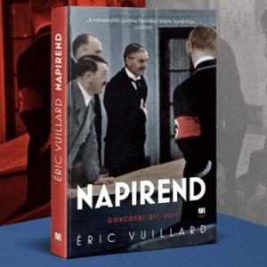 Éric Vuillard könyve a Napirend már kapható! NYERD MEG!