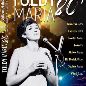 Toldy Mária 80. Jubilemi Gálaest DVD jelent meg!