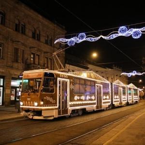 Magyar villamos lett Európa legszebb villamosa! Még 1 napig közlekedik!
