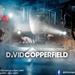 David Copperfield INGYENES online bűvész showban vár ma este! Ne hagyd ki!