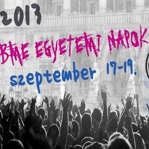 VII. BME Egyetemi Napok 2013 - Jegyek itt!