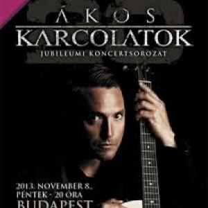 Ákos - Karcolatok 20 koncert Szombathelyen az AGORA Művelődésházban! Jegyek itt!