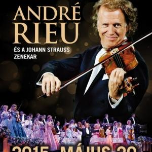 André Rieu és a Johann Strauss Zenekar koncertje 2015-ben az Arénában - Jegyek itt!
