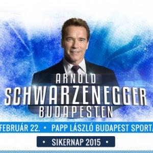 Arnold Schwarzenegger Budapestre látogat 2015-ben a Siker-napra - Jegyek és infók itt!