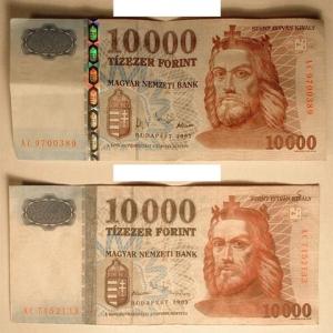 Felismered a hamis 10.000 forintost? Próbáld ki!