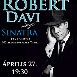 Robert Davi koncert 2015-ben Budapesten! Jegyek itt!