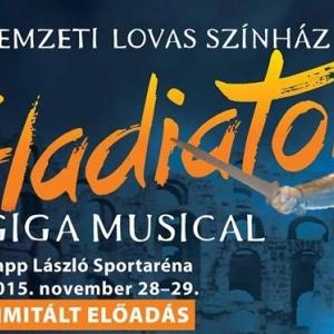 Gladiátor musical az Arénában - Jegyek a Nemzeti Lovas Színház előadására itt!