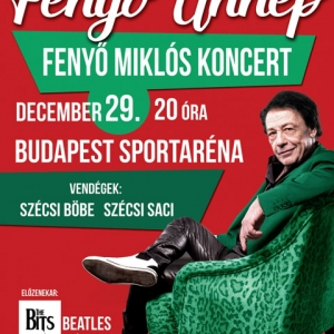 Fenyő Miklós karácsonyi koncert - Fenyő Ünnep 2015 - Jegyek itt!