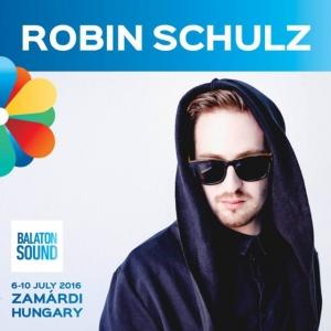 Robin Schulz koncert 2017-ben a Balaton Soundon - Jegyek itt!