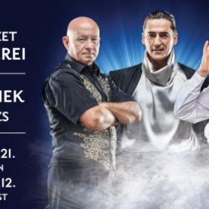 A bűvészet mesterei Sopronban a GYIK rendezvényházban - Jegyek itt!