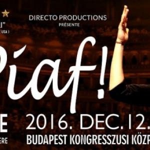 Piaf show 2017-ben ismét Budapesten - Jegyek Anne Carrere koncertjére itt!