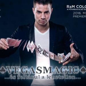 Vegasmagic - Németh Gábor bűvész showja a Ram Colosseumban - Jegyek itt!