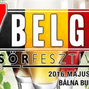 7. Belga Sörfesztivál 2016-ban Budapesten - Jegyek itt!
