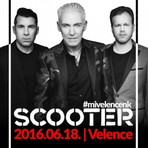 Scooter koncert 2016-ban Velencén - Jegyek itt!