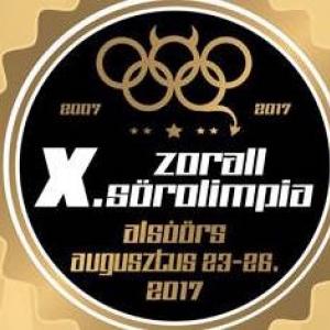 Zorall Sörolimpia 2017 - Jegyek és fellépők itt!