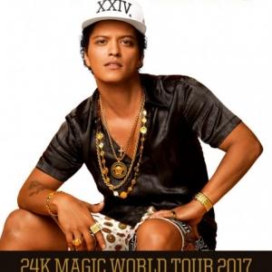 Bruno Mars koncert 2017-ben Budapesten - Jegyek itt!
